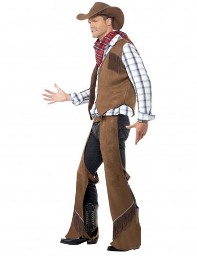 Sur-pantalon cowboy western homme
