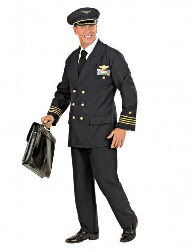Déguisement capitaine d'avion homme