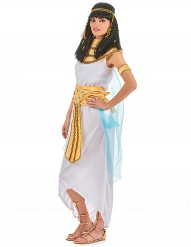 Déguisement reine d'Égypte avec coiffe femme-1