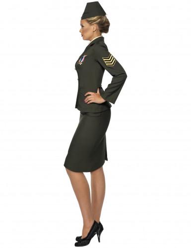 Déguisement officier militaire femme-2