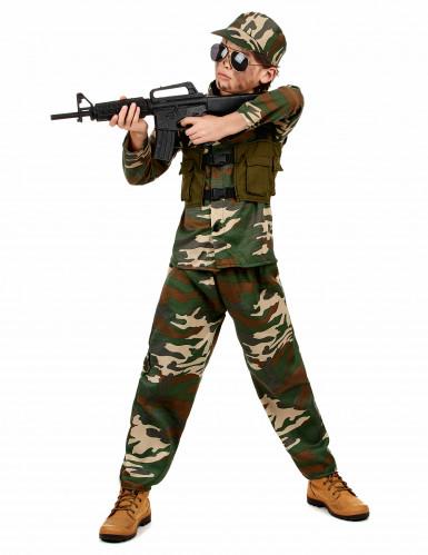 Déguisement militaire ensemble garçon-1