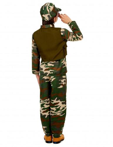 Déguisement militaire ensemble garçon-2