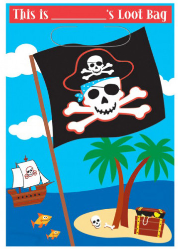 Sac pirate gala