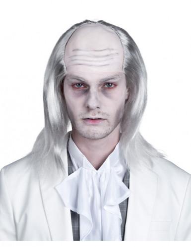 Perruque zombie blanc homme Halloween