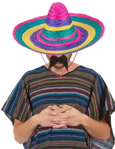 Sombrero multicolore adulte-1