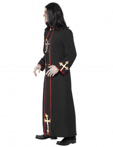 Déguisement moine démoniaque homme Halloween-1