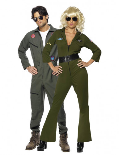 Costumes couple aviateurs Top Gun™