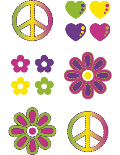 Tatouages hippies temporaires-1