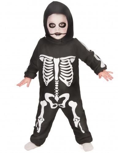 Déguisement complet squelette garçon