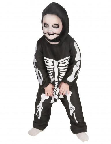 Déguisement complet squelette garçon-1
