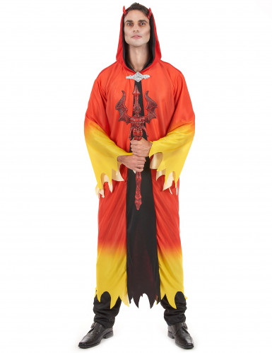 Déguisement diable flamboyant homme Halloween