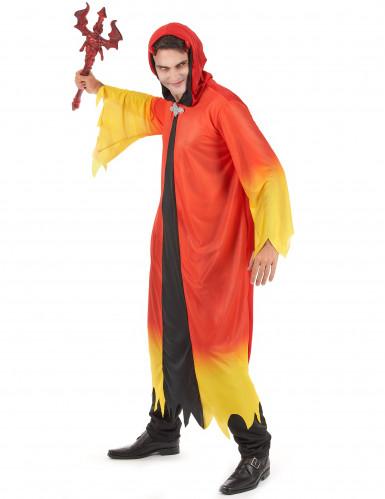 Déguisement diable flamboyant homme Halloween-1