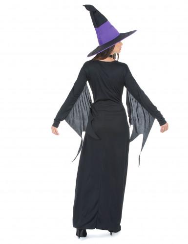 Déguisement sorcière à corsage femme Halloween-2