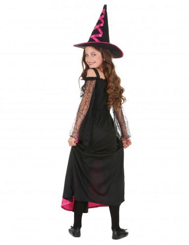 Déguisement sorcière dentelé fille Halloween-2