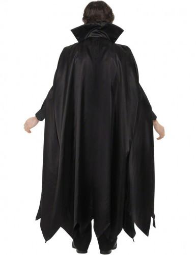 Déguisement vampire avec cape homme Halloween-1
