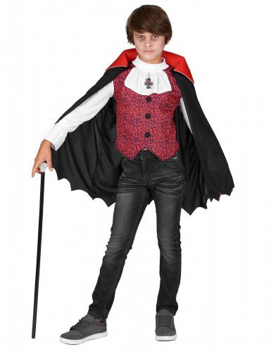 Déguisement vampire garçon Halloween-1