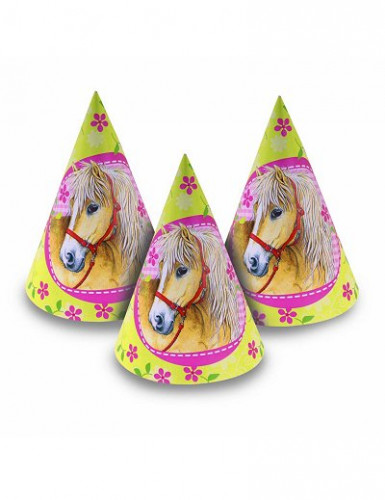 6 chapeaux Chevaux