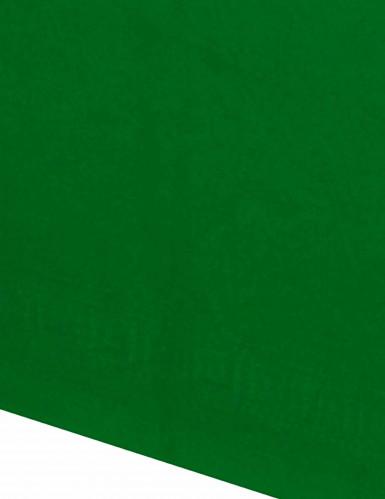 Nappe en papier verte 140 x 280 cm-1