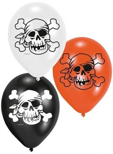 6 Ballons pirates