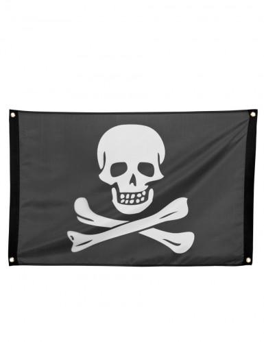 Drapeau pirate noir et blanc