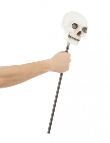 Sceptre tête de mort Halloween-1