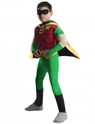 Déguisement Robin™ Deluxe musclé enfant - Teen Titans Go™