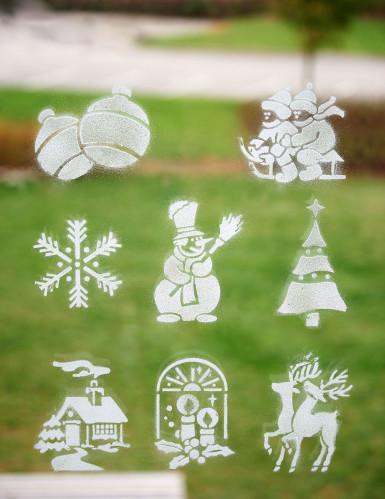 8 Pochoirs Noël-1