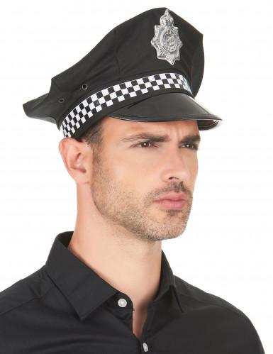 Casquette policier anglais adulte-2