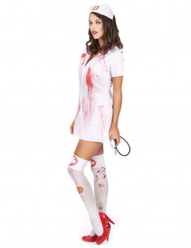 Déguisement infirmière psychopathe Halloween-1