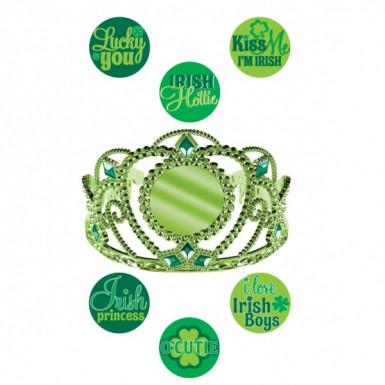 Diadème personnalisable Saint-Patrick
