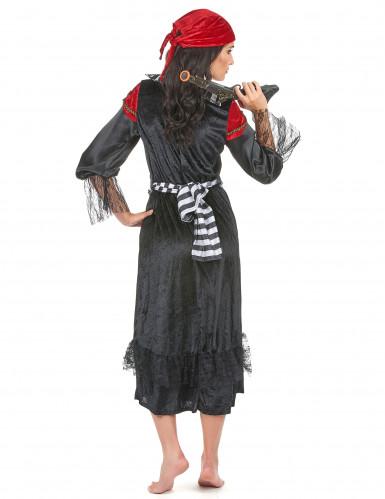 Déguisement pirate robe longue femme-2