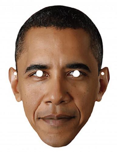 Masque en carton Barack Obama