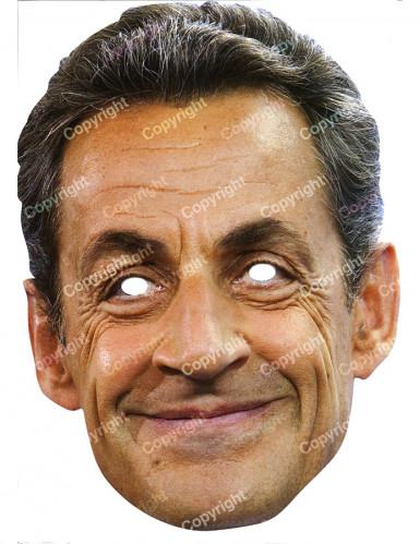 Masque carton Nicolas Sarkozy