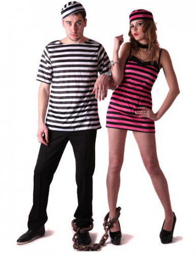 Déguisement couple prisonnier