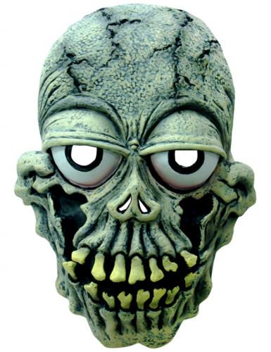 Masque squelette yeux globuleux adulte