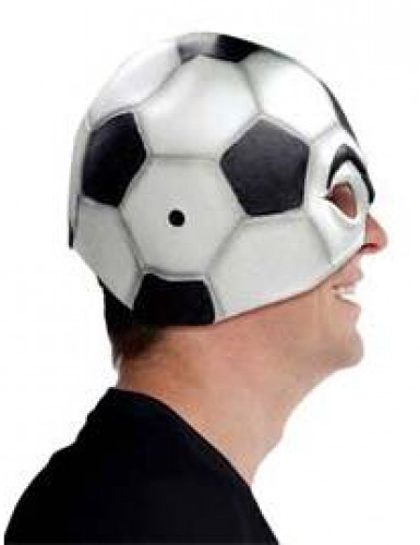 Masque ballon de football adulte-1