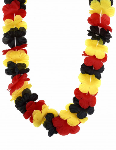 Collier Hawai supporter Allemagne adulte