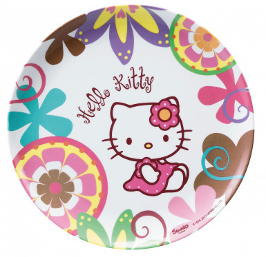 Assiette mélamine Hello Kitty  Bamboo™