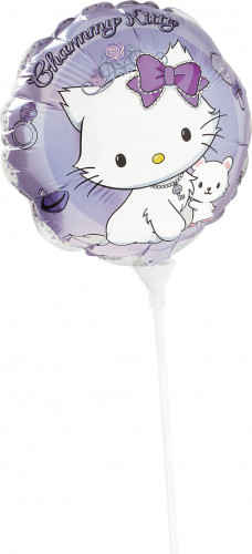 Ballon rond aluminim Charmmy Kitty™