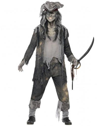 Déguisement fantôme pirate homme Halloween