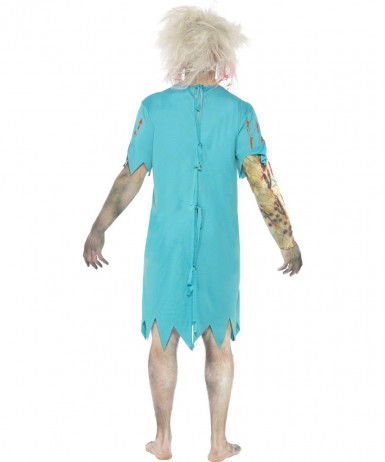 Costume patient zombie adulte Halloween-1