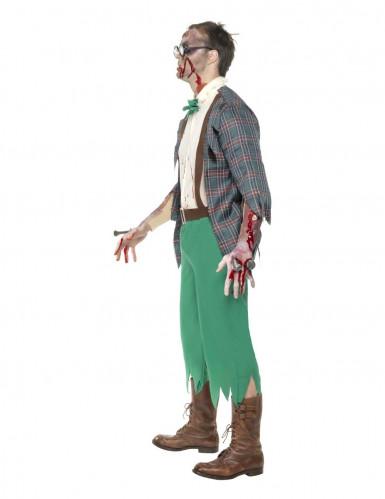 Déguisement zombie geek homme-2