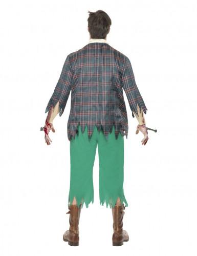 Déguisement zombie geek homme-1