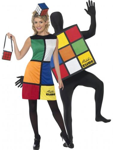 Déguisement de couple Rubik's Cube™