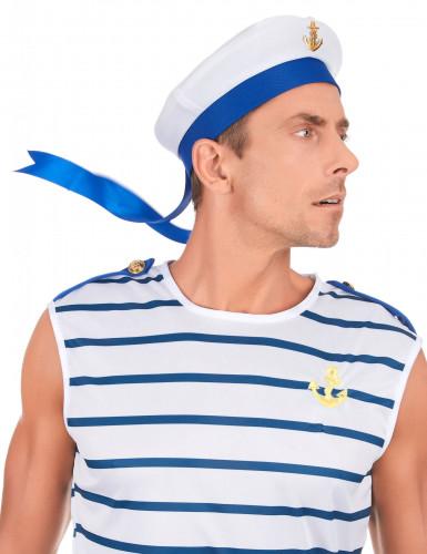 Chapeau marin avec ancre adulte-2