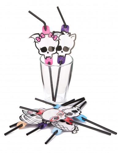 Pailles flexibles Monster High™ Halloween-1