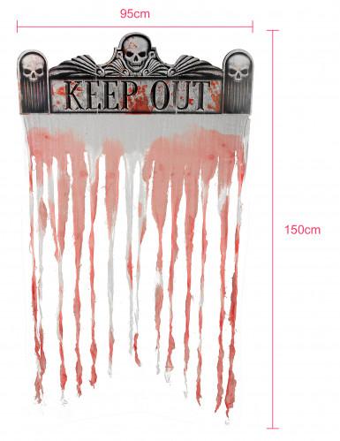 Rideau de porte Halloween 150 x 95 cm-2