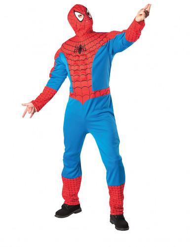 Déguisement Spider-Man™ adulte avec torse et cagoule