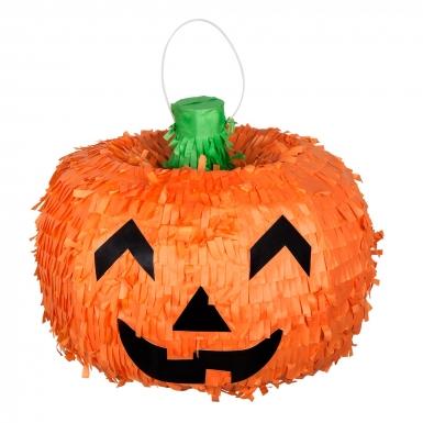 Piñata citrouille Halloween 32 x 26 cm