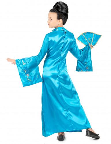 Déguisement chinoise bleue fille-2